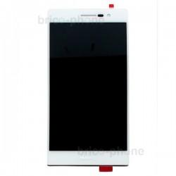 Ecran blanc avec vitre et LCD pour Huawei P7 photo 2
