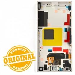 Bloc écran blanc avec châssis pour Sony Xperia Z5 Compact photo 3