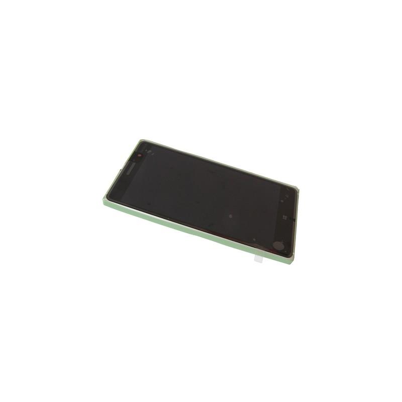 Bloc Ecran Silver avec chassis pour NOKIA Lumia 830 photo 2
