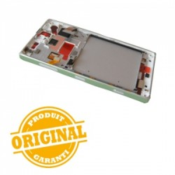 Bloc Ecran Silver avec chassis pour NOKIA Lumia 830 photo 3