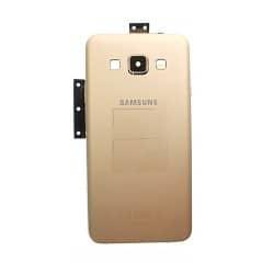 Coque arrière Gold avec châssis pour Samsung Galaxy A3 photo 2
