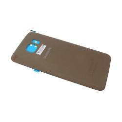 Vitre arrière Gold pour Samsung Galaxy S6 photo 2