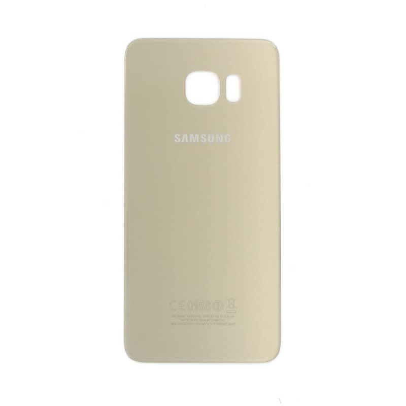 Vitre arrière Gold pour Samsung Galaxy S6 Edge Plus photo 2