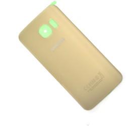 Vitre arrière Gold pour Samsung Galaxy S6 Edge photo 2