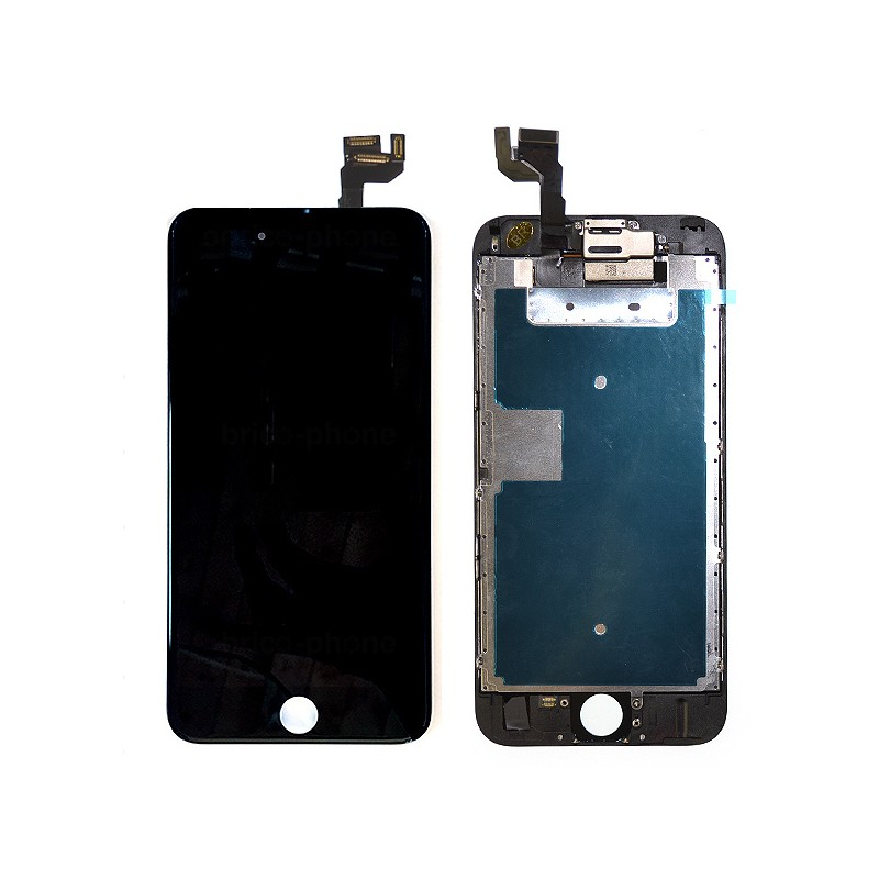 Ecran NOIR iPhone 6S PREMIUM pré-assemblé photo 2