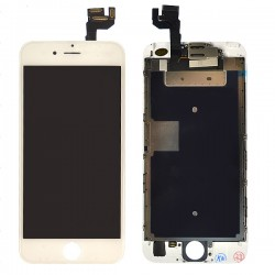 Ecran BLANC iPhone 6S PREMIUM pré-assemblé photo 2