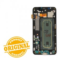 Ecran Noir Amoled avec vitre prémontée pour Samsung Galaxy S6 Edge Plus photo 3
