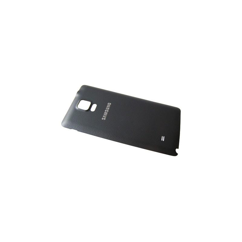 Coque arrière NOIRE pour Samsung Galaxy Note 4 photo 2