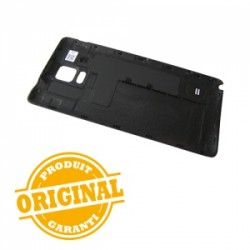 Coque arrière NOIRE pour Samsung Galaxy Note 4 photo 3