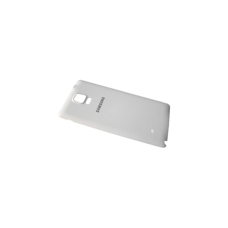 Coque arrière BLANCHE pour Samsung Galaxy Note 4 photo 2