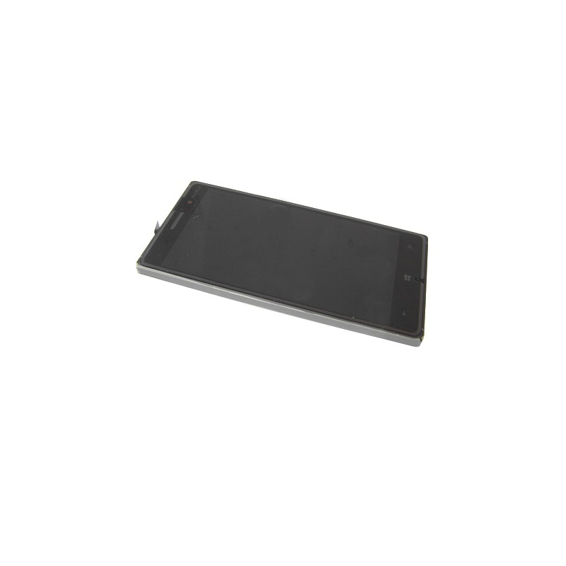 Bloc Ecran Noir avec chassis pour NOKIA Lumia 830 photo 2