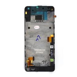 Bloc écran NOIR COMPLET prémonté sur chassis pour HTC One mini photo 3