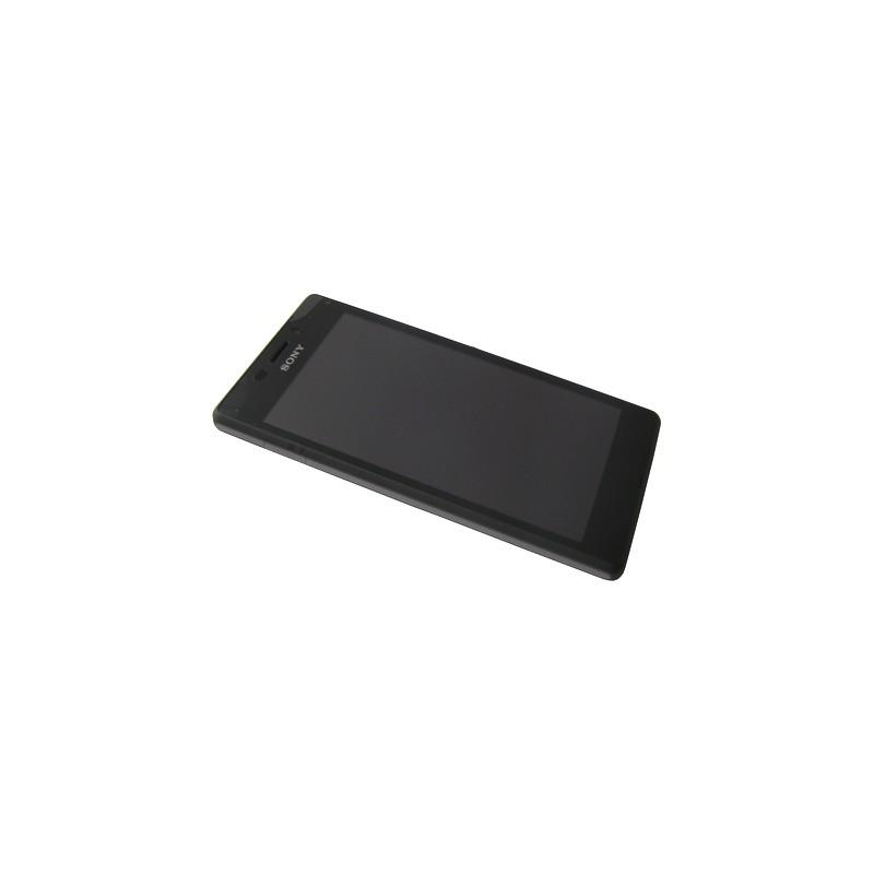 Bloc écran Noir complet pour Sony Xperia M2 Aqua photo 2