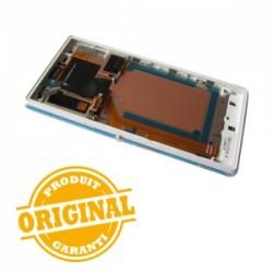 Bloc écran Blanc complet pour Sony Xperia M2 Aqua photo 3