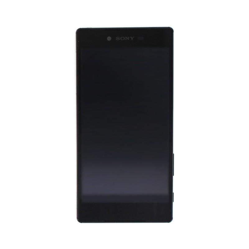 Bloc Ecran avec châssis pour Sony Xperia Z5 Premium Noir photo 2