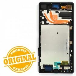 Bloc Ecran avec châssis pour Sony Xperia Z5 Premium Noir photo 3