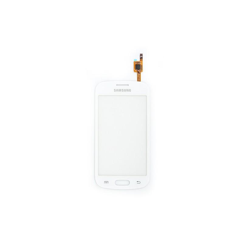 Vitre tactile Blanche pour Samsung Galaxy Trend Lite photo 2