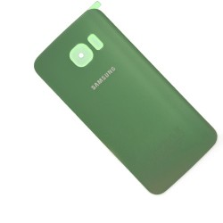 Vitre arrière GREEN pour Samsung Galaxy S6 Edge photo 2