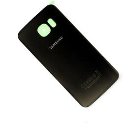 Vitre arrière NOIR COSMOS pour Samsung Galaxy S6 Edge photo 2