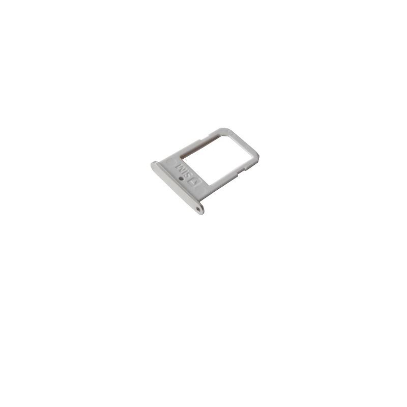 Rack tiroir carte SIM BLANC pour Samsung Galaxy S6 Edge photo 2