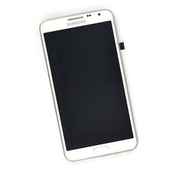 Ecran BLANC complet pour Samsung Galaxy Note 3 NEO LTE photo 2