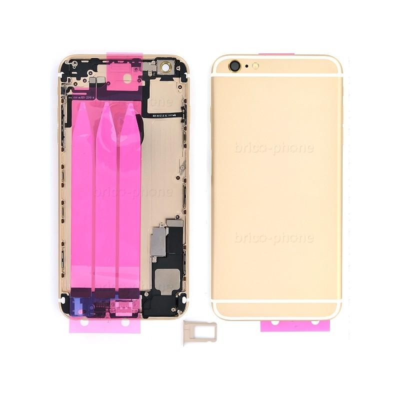 Coque arrière Gold pour iPhone 6 Plus complète photo 2