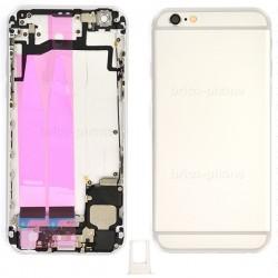 Coque arrière Silver pour iPhone 6S complète photo 2