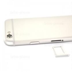 Coque arrière Silver pour iPhone 6S complète photo 3