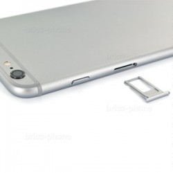 Coque arrière Gris sidéral pour iPhone 6S Plus complète photo 5