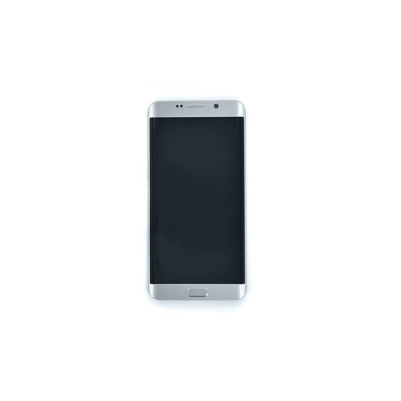 Ecran Argent Amoled et vitre prémontés pour Samsung Galaxy S6 Edge Plus photo 2