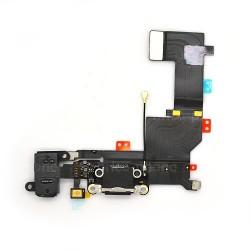 Connecteur de charge Noir avec jack et micro iPhone SE photo 2