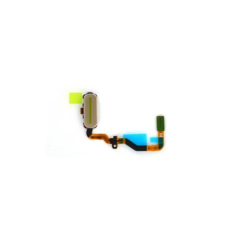 Bouton Home Or avec nappe pour Samsung Galaxy S7 photo 2