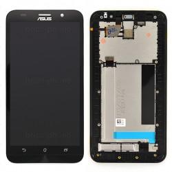 """Ecran 5.5"""""""" NOIR COMPLET prémonté sur châssis pour Asus Zenfone 2 photo 2"""