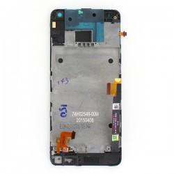 Bloc écran SILVER COMPLET prémonté sur chassis pour HTC One mini photo 3