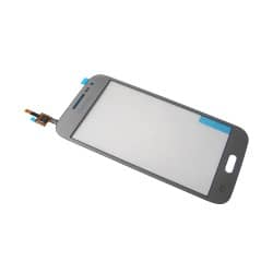 Vitre tactile Argent pour Samsung Galaxy Core Prime VE photo 2