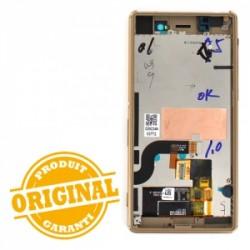 Bloc Ecran Or avec châssis pour Sony Xperia M5 /M5 DUAL SIM photo 3