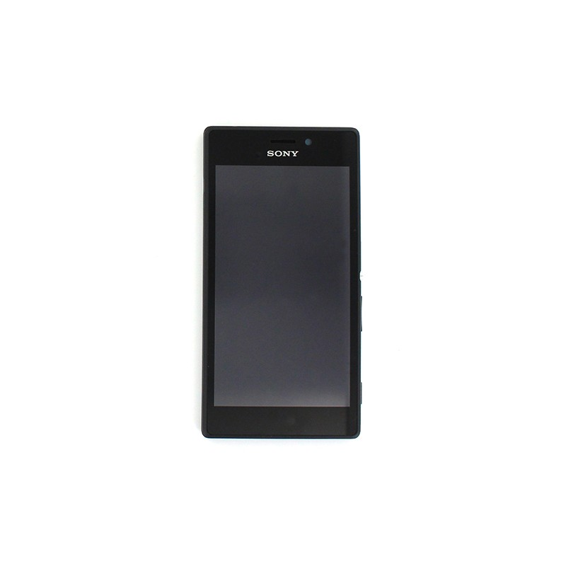 Bloc Ecran Noir complet pour Sony Xperia M2 photo 2