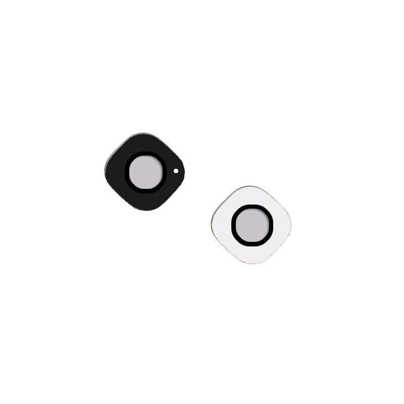 Lentille de caméra arrière en verre pour Samsung Galaxy S6 Edge Blanc photo 2