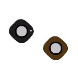 Lentille de caméra arrière en verre pour Samsung Galaxy S6 Edge Or photo 2