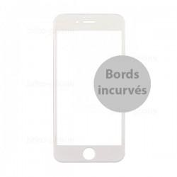 Protecteur en verre trempé blanc INCURVE pour iPhone 6 et 6S photo 2