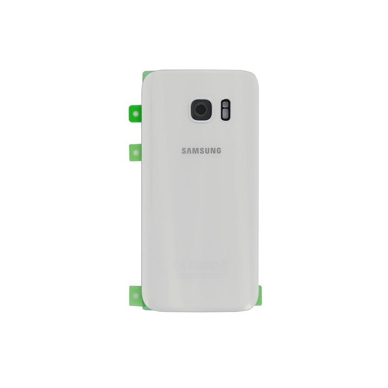 Vitre arrière Blanche pour Samsung Galaxy S7 photo 2