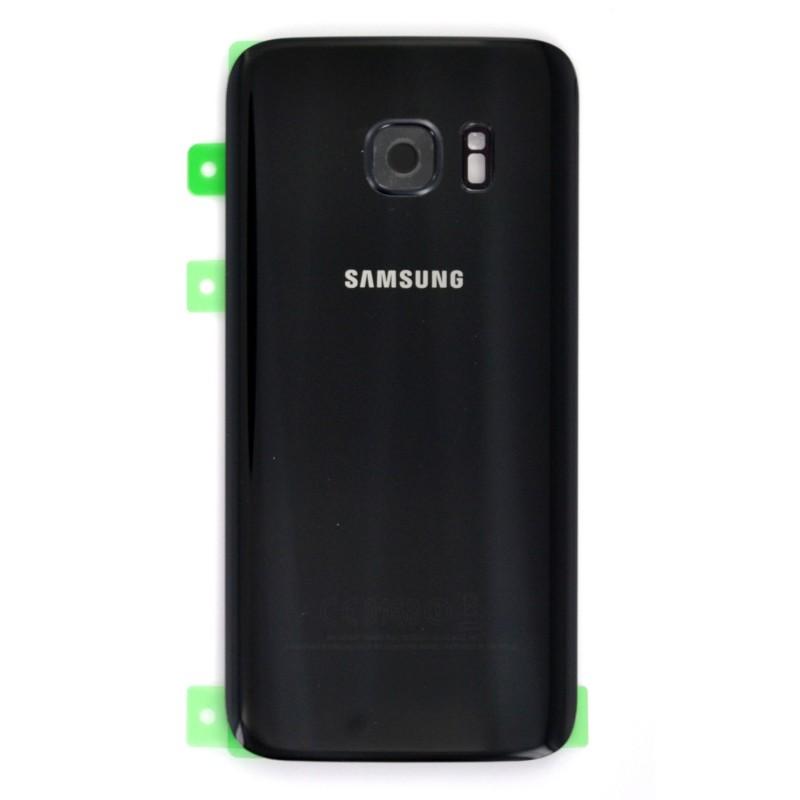 Vitre Arrière Noire pour Samsung Galaxy S7 photo 2
