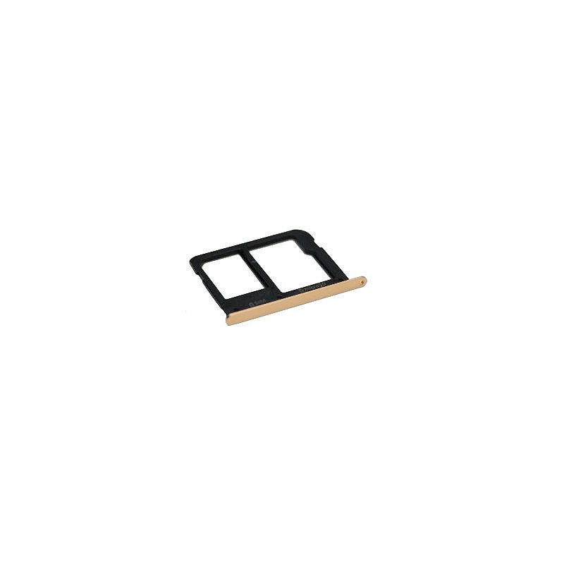 Rack tiroir cartes SIM et SD Or pour Samsung Galaxy A3 2016 / A5 2016 photo 2