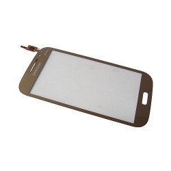 Vitre tactile Or pour Samsung Galaxy Grand Neo Plus photo 2