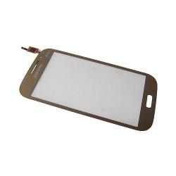 Vitre tactile Or pour Samsung Galaxy Grand Neo Plus photo 2