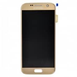 Ecran Amoled et vitre prémontés pour Samsung Galaxy S7 Or photo 2