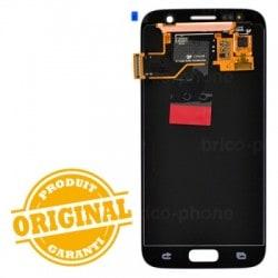 Ecran Amoled et vitre prémontés pour Samsung Galaxy S7 Or photo 3