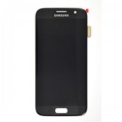 Ecran Amoled et vitre prémontés pour Samsung Galaxy S7 Noir photo 2