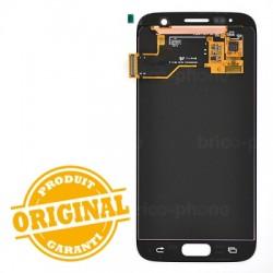 Ecran Amoled et vitre prémontés pour Samsung Galaxy S7 Noir photo 3