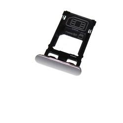 Rack tiroir Blanc pour cartes SIM et SD pour Sony Xperia X photo 2